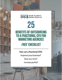 25 Benefits of Outsourcing to a Fractional CFO for Marketing Agencies 2
